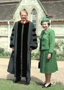 Billy Graham and Queen Elizabeth